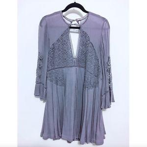Violet Boho Dress